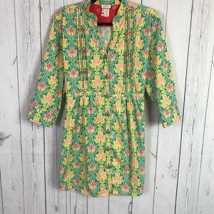 Matilda Jane | cotton poplin style dress | large